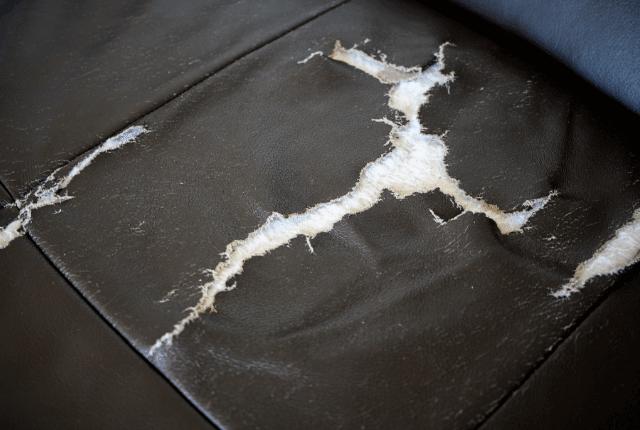 תיקון ספות עור לספה קרועה