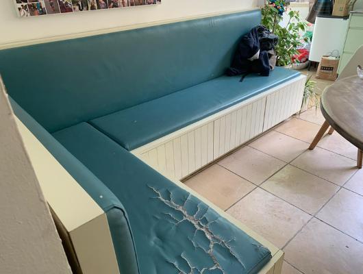 ריפוד ספת ישיבה לפני | repair sofa