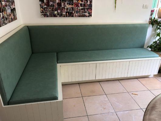 ריפוד ספת ישיבה אחרי | repair sofa