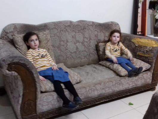 ריפוד ספה 3 מושבים לפני | repair sofa