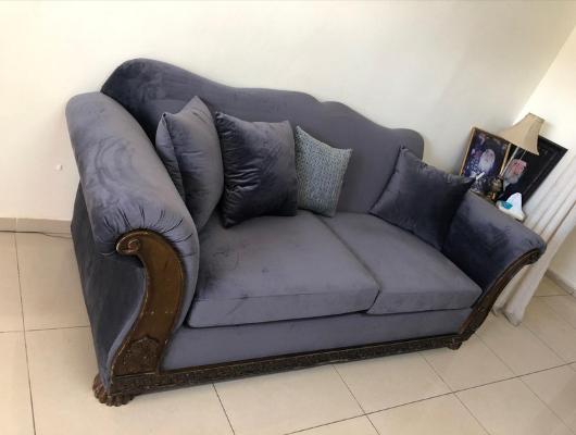 ריפוד ספה 3 מושבים אחרי | repair sofa