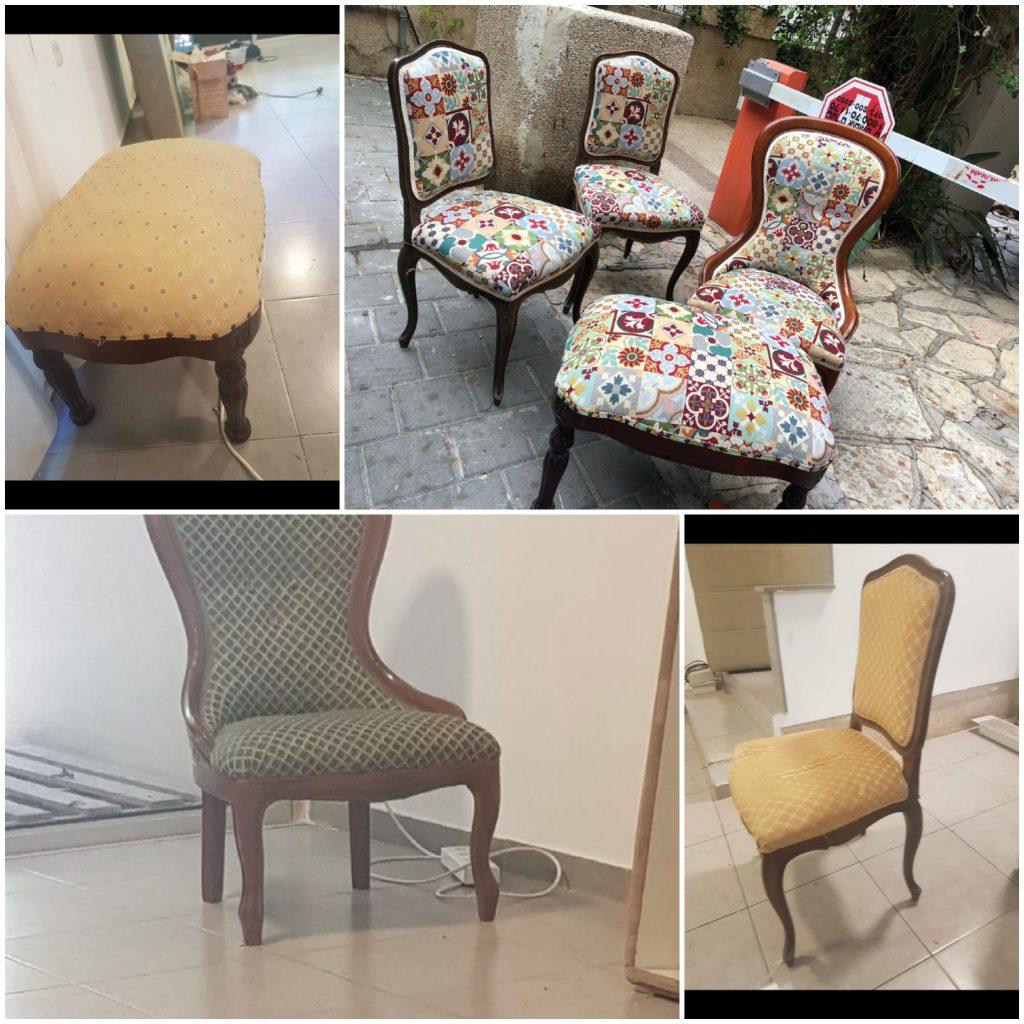 ריפוד כסאות מחיר