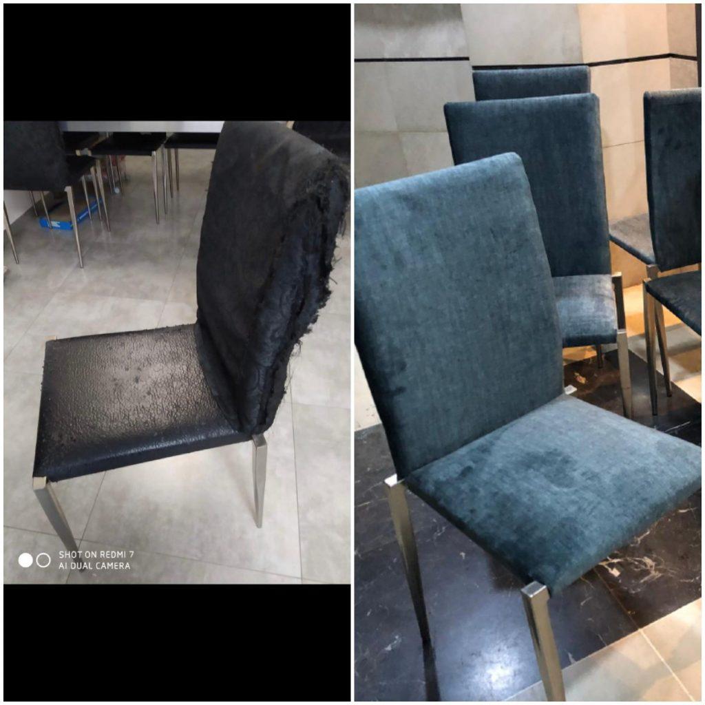רפד כיסאות